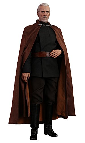 Hot Toys Star Wars: Movie Masterpiece Series Episode II: Attack of The Clones Count Dooku 1/6 Sixth Scale Collectible Figure MMS496 from Hot Toys