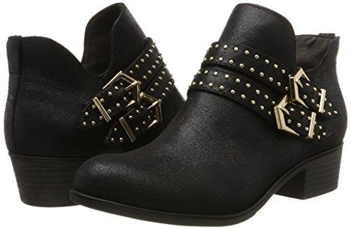 S black Noir Bottes oliver 25314 Classiques Femme HxnqH18T