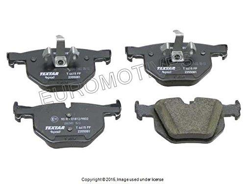 BMW (select 06-10 models) Brake Pad Set Rear CERAMIC Textar