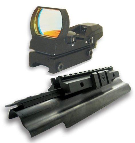 Tactical Trirail Mount With Multi Reticle Reflex Sight fits AK47 Mak90 AMD65 Saiga Rifles