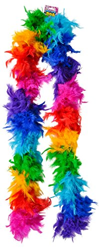 Deluxe Rainbow Parade Costume Feather
