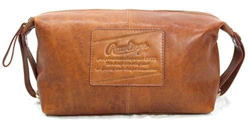Rawlings Men's Leather Travel Kit, Brown