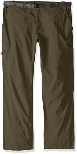 Pants Columbia Sportswear Work (Columbia Silver Ridge Big & Tall Cargo Pant, Peat Moss, 50