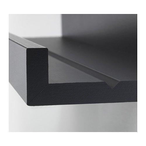 "Ikea MOSSLANDA Picture ledge, black, 21 ¾ """