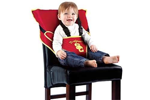 Cozy Cover NCAA USC Trojans Unisex Portable Easy Seat, Maroon, One Size (Usc Trojan Baby)
