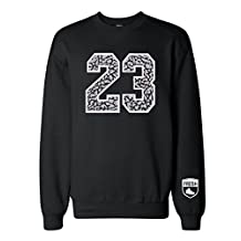 FTD Apparel Men's Jordan Jordans 5 3lab5 Retro 3 Cement shoes Crew Neck Sweater
