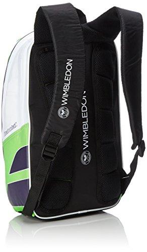 Babolat Uni Backpack Club Wimbledon Rucksäcke, Grün, 70 x 50 x 10 cm, 0.4 Liter