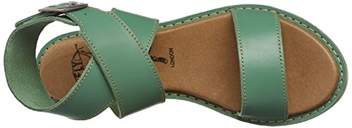 Sandales Kiba465 005 Femme Bride Vert London Fly mint Cheville nzx8vEnW