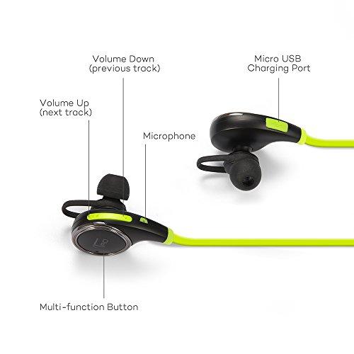 TaoTronics TT-BH06 G Bluetooth Wireless Earphones With