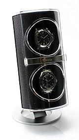 [ON SALE] Versa Duo Double Watch Winder in Black