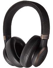 JBL Live 650 BT NC, Around-Ear Wireless Headphone with Noise Cancellation - Black, JBLLIVE650BTNCBAM