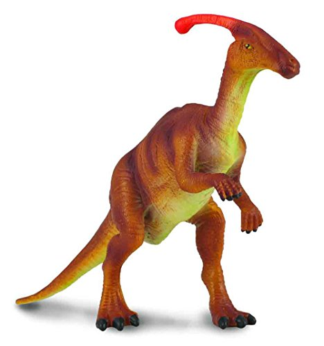 CollectA Parasaurolophus Toy Dinosaur Figure - Authentic Hand Painted & Paleontologist Approved Model