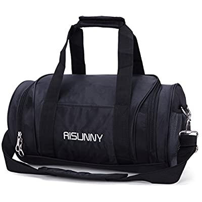 fb0ebba92bb5 free shipping RISUNNY Barrel Fitness Gym Bag Small Travel Sports Bags for  Men and Women