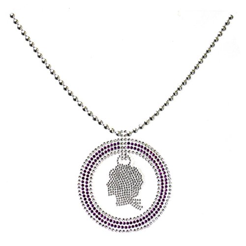 (Korea and Handmade Rhinestone Motif Fashion Design Stickers Woman Necklace 3)