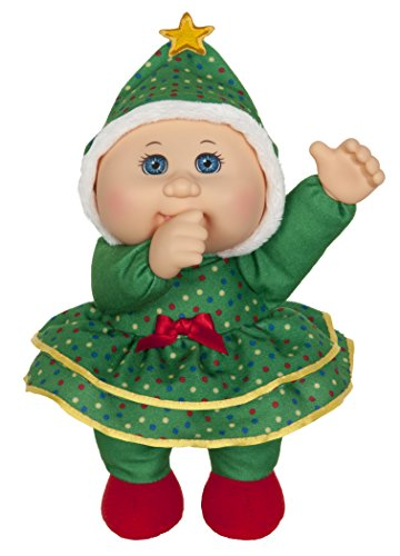 Cabbage Patch Kids 9 Inch Collectible Holiday Helpers Softbody Cuties Doll, Joy Tree