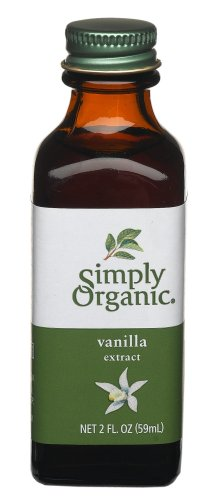 Simply Organic Vanilla Extract Certified Organic, 2-Ounce Containers (Pack of 3)
