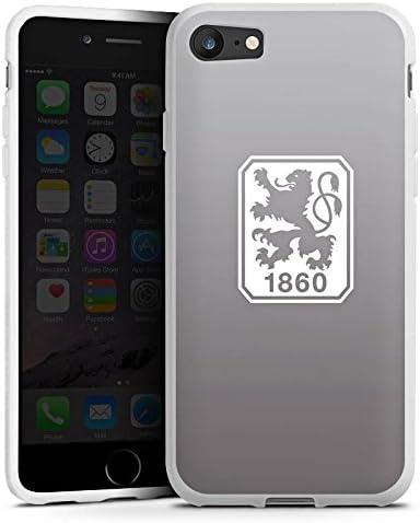 DeinDesign Silikon H/ülle kompatibel mit Apple iPhone 7 Case Schutzh/ülle Offizielles Lizenzprodukt TSV 1860 M/ünchen Fu/ßball