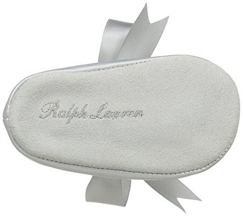 Ralph Lauren Layette Briley Ballet (Infant/Toddler), Silver/Metallic, 3 M US Infant - Image 3