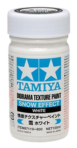 Amazoncom Tamiya 100ml Diorama Texture Paint Snow White 87119