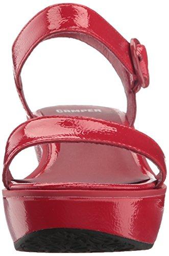 Camper Femmes Damas 21923 Plate-forme Pompe Rouge
