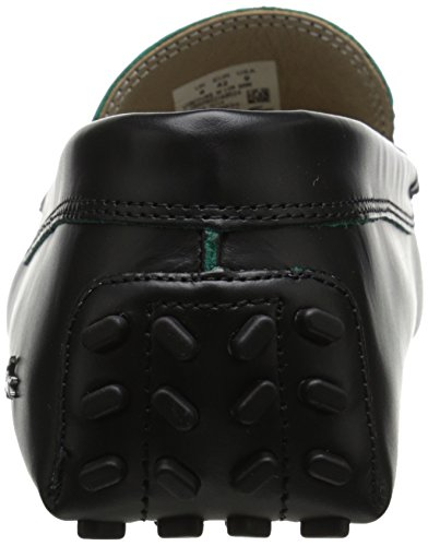 10 Driving Black Loafer Men's Concours Leather Lacoste qCw1TT