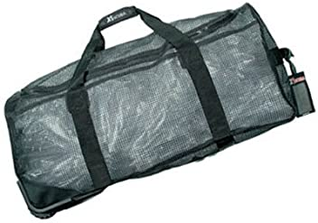 1d6c4390f1ca XS Scuba Wheeled Mesh Duffel Bag