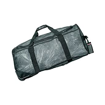 b31403879e8d Image Unavailable. Image not available for. Color  XS Scuba Wheeled Mesh  Duffel Bag ...