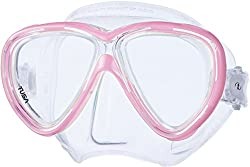 Tusa Freedom One Mask - Clearpink