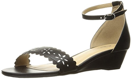 CL by Chinese Laundry Womens Mila Wedge Pump Sandal Black cnSvIQmiPs
