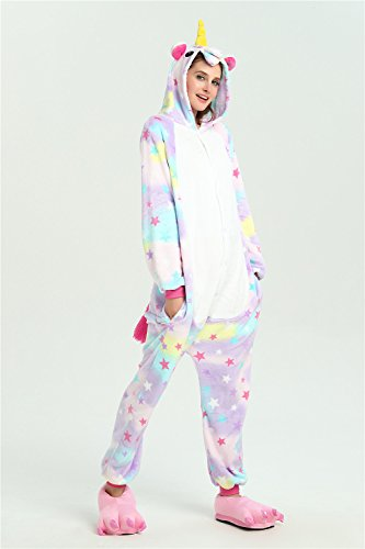 Amazon.com: Tickos Unisex Unicorn Pajamas Adult Sleepwear Animals Costumes Cosplay Onesie: Clothing