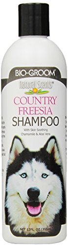 [Bio-Groom Natural Scents Country Fressia Scented Shampoo, 12-Ounce] (Groom Soap)