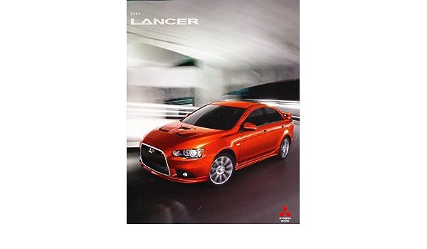 2009 Mitsubishi Lancer Deluxe Sales Brochure Catalog Raliart