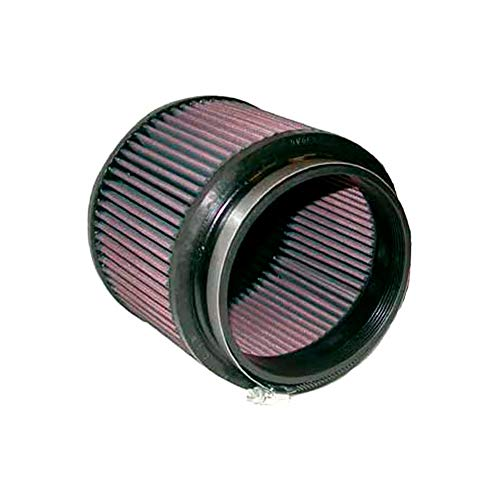 - K&N RU-5111 Universal Clamp-On Air Filter: Round Tapered; 3 in (76 mm) Flange ID; 5.75 in (146 mm) Height; 4.5 in (114 mm) Base; 3.5 in (89 mm) Top