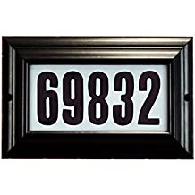 Special Lite Products Manor Lighted Address Plaque