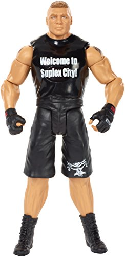 WWE Tough Talkers Brock Lesnar Figure, 6'' by WWE