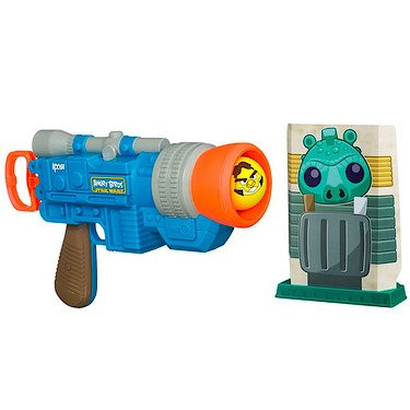 Koosh Angry Birds Han Solo Launcher (Koosh Gun)
