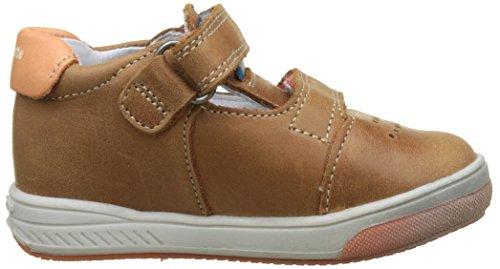 babybotte Jungen Sakara Hohe Sneaker Marron (camel/orange)