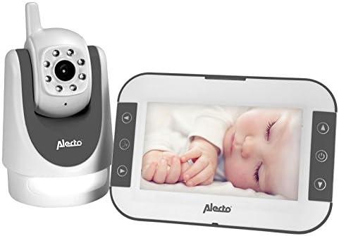 Alecto vigila bebes vídeo orientable remota pantalla de 5 ...