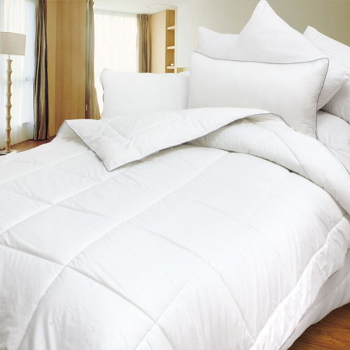 Blancho Bedding - Luxurious Down Alternative Comforter 300GSM Piped Edging (Full Size) from Blancho Bedding
