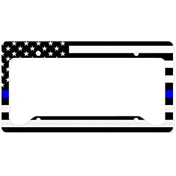 Amazon.com: CafePress - Police: Black Flag & The Thin Blue Line ...