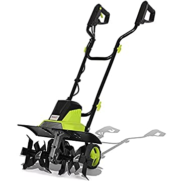 Electric-Tiller-1500W-Garden-Soil-Cultivator-Rotavator-with-6-Steel-Blades-45cm-Cutting-Width-Foldable-Handle-22cm-Tilling-Depth-10m-Power-Cable