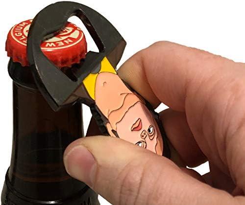 Dwight Schrute Mask Bottle Opener Dwight Schrute Beer Opener Balanced Co