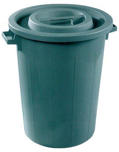 Plastime Mülleimer ohne Deckel, grün, 50 l l l B06X1C1FL6 Eimer 5fee35