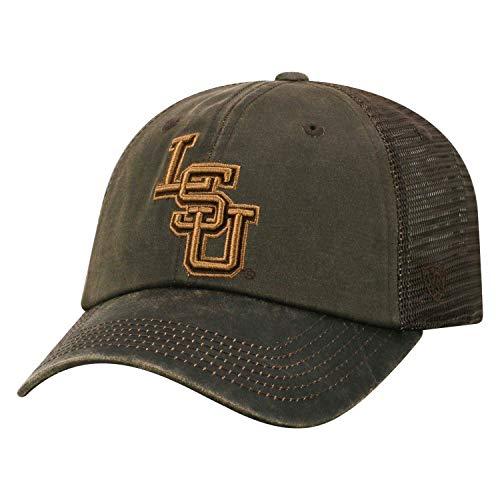 Tow Chesnut NCAA Louisiana State Tigers Adjustable Meshback Hat