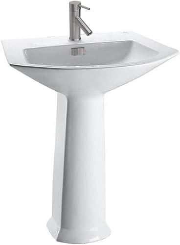 Toto LPT962 01 25-1 8-Inch by 18-1 2-Inch Soir e Pedestal Lavatory, Cotton
