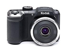 "Kodak PIXPRO Astro Zoom AZ251 16 MP Digital Camera with 25X Optical Zoom and 3"" LCD Screen (Black)"