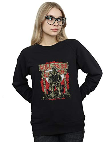 Camisa Cult Entrenamiento Kill Absolute Be Killed Mujer Negro Or Drewbacca De wa6znxqz0