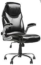 Merax Modern High Back Leather Executive Office Desk Task Computer Chair w/Metal Base