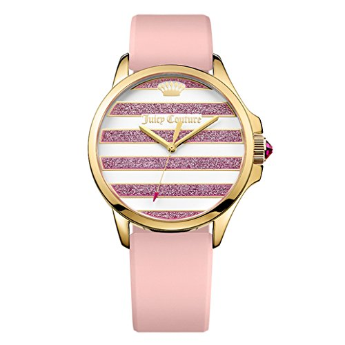 Juicy Couture Women's Pink Silicone Strap Watch - 2
