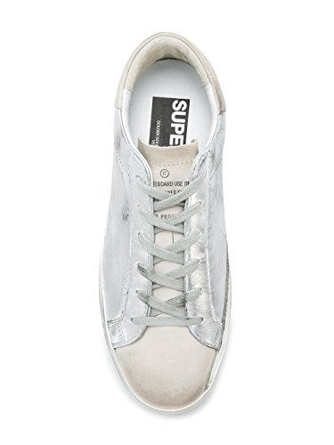 discount very cheap free shipping from china Golden Goose Women's G32WS590E68 Silver Leather Sneakers visit new cheap price n7ioCfszl
